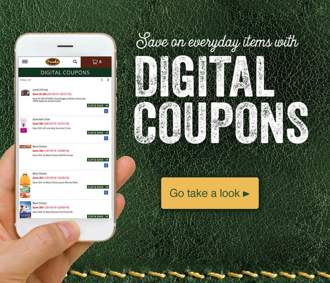 Save on everyday items with Digital Coupons - Go take a look >